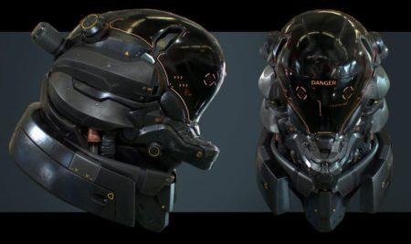 Making-Of de un casco Sci-Fi