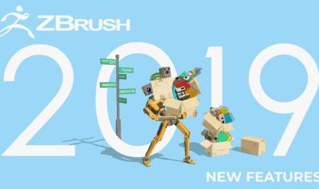 ¡Las nuevas funciones de Zbrush 2019 ya han sido reveladas!