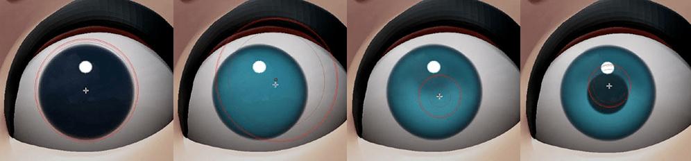 Eye Zbrush