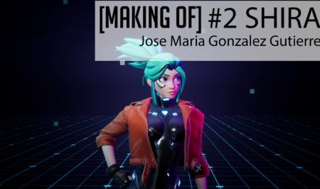 [Making Of] Trabajos de alumnos #2 Cyberpunk Shira