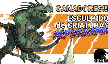¡Presentamos los ganadores del concurso de criaturas!