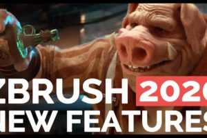 Zbrush 2020 Cover
