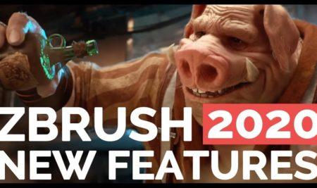 ¡Las nuevas funciones de Zbrush 2020!