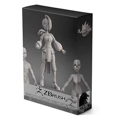 Curso de ZBrush O3D+ | Esculpido orgánico digital