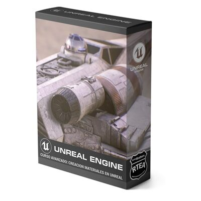 Curso Avanzado Creación de Materiales UNREAL ENGINE 5 +XTRAS