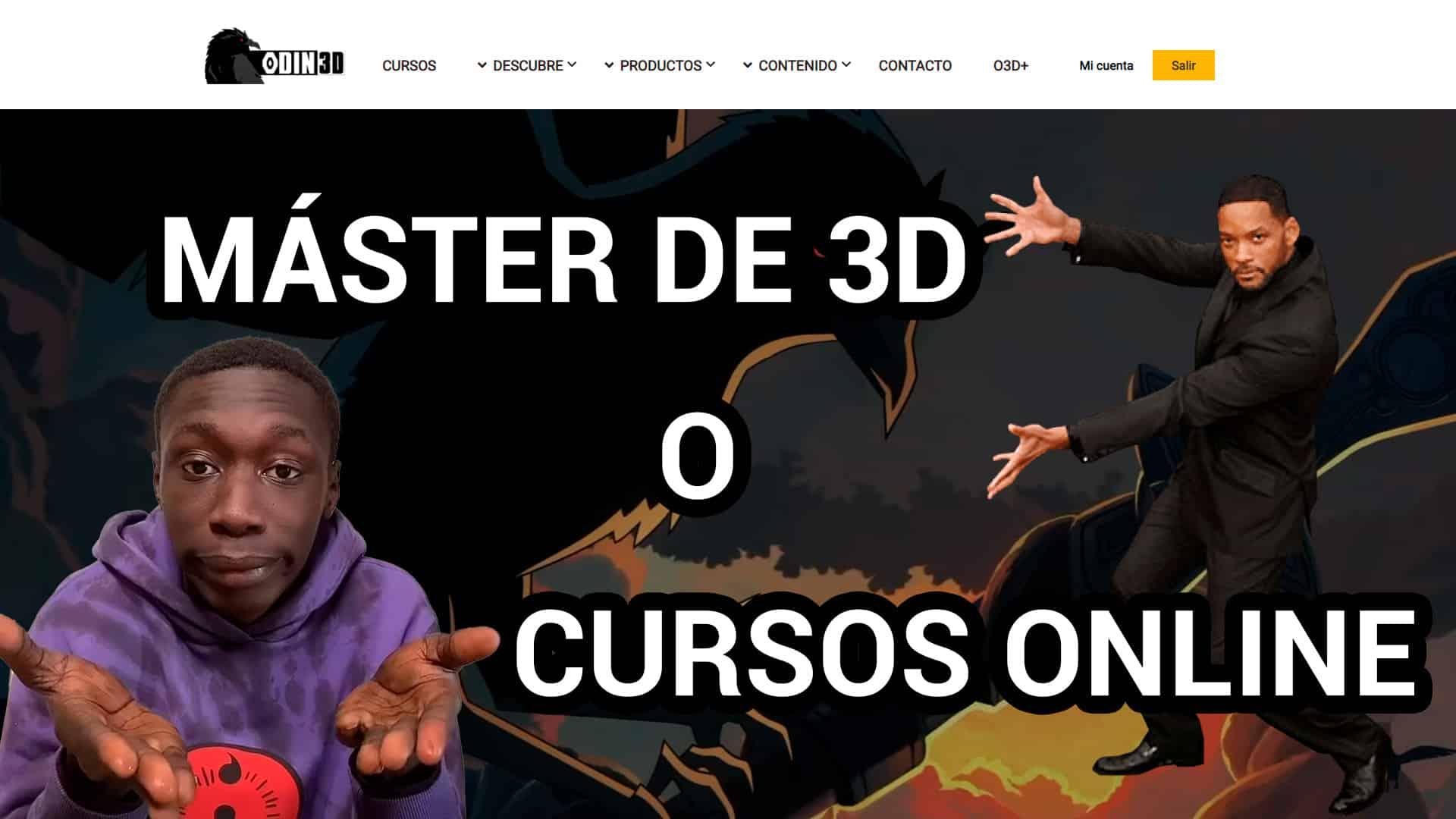 master 3D cursos animación